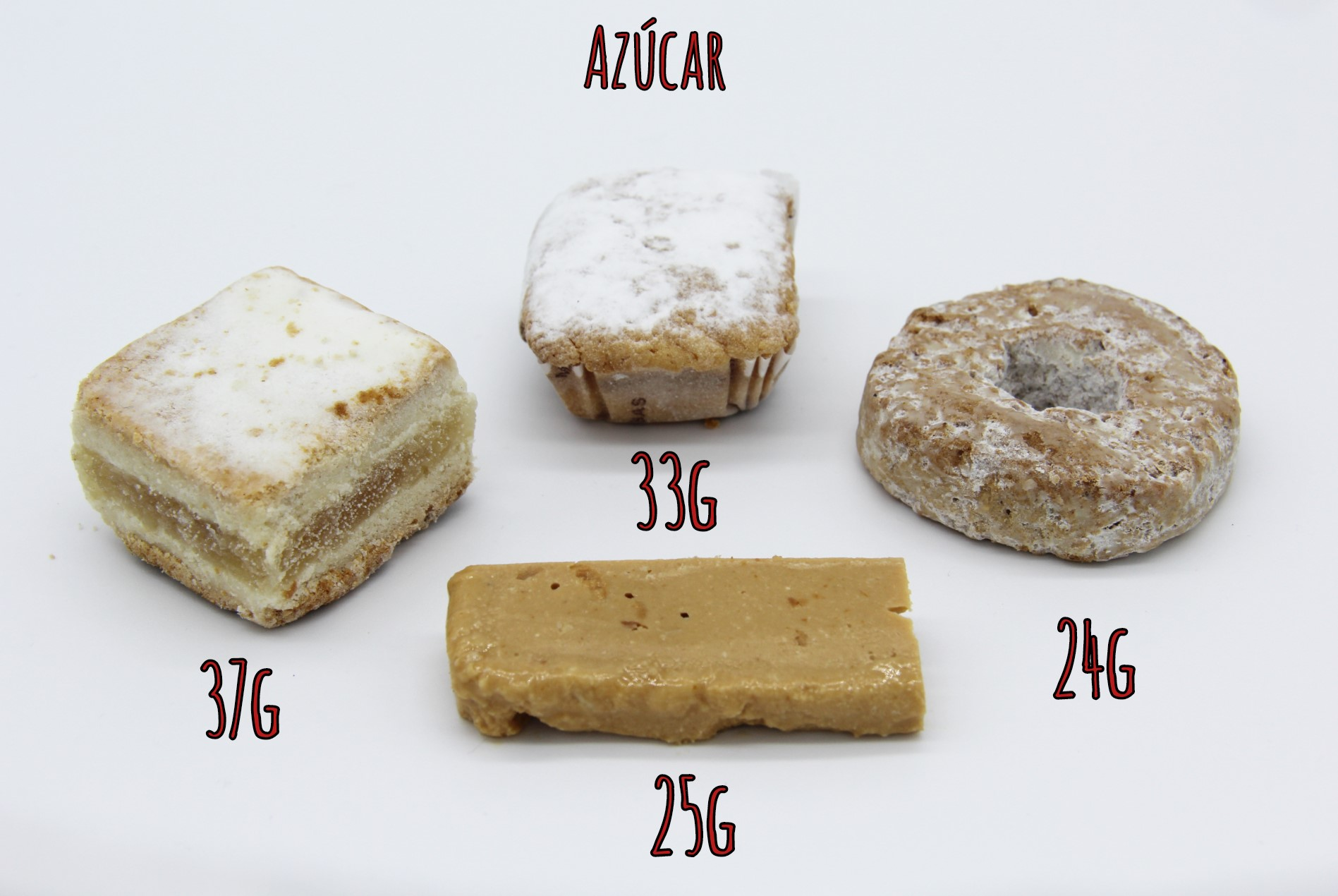 Azúcar en las Delicias Navideñas